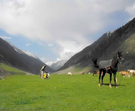 A- Between Kaghan and kohistan