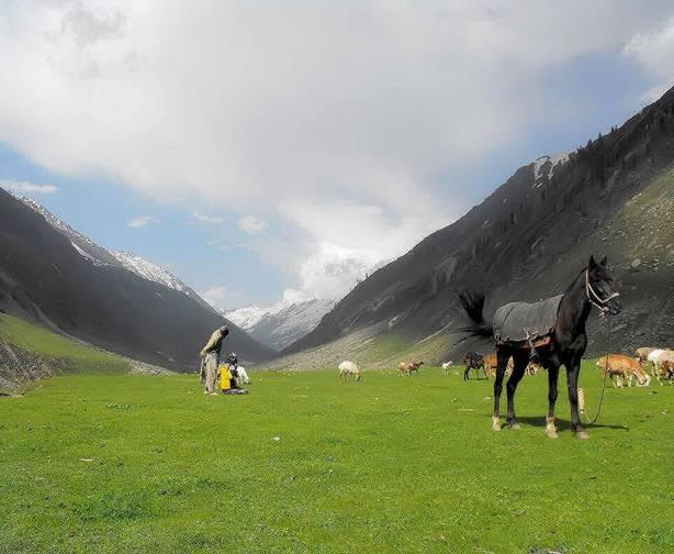 A- Between Kaghan and kohistan