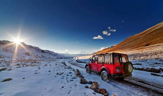A-DEOSAI PLAINS, ALTITUDE 14,500 Ft