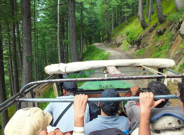 A- Some where Kaghan Valley