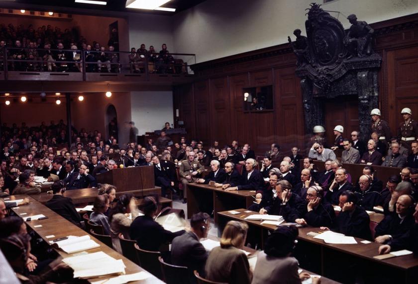 Courtroom Nuremburg