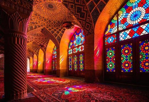 NASR-UL-MULK Mosque by Dav Wong