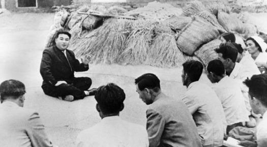 North Korea Kim IL Sung Oct 1945