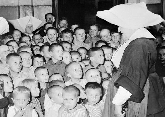 Polands War Orphans 1945