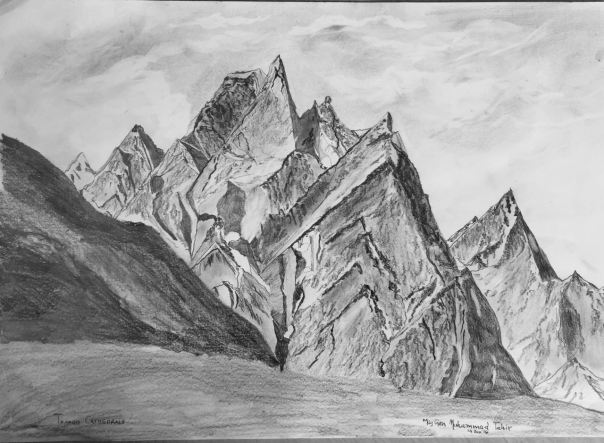 TRANGO CATHEDRALS IN PENCIL